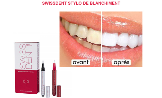 SWISSDENT STYLO DE BLANCHIMENT